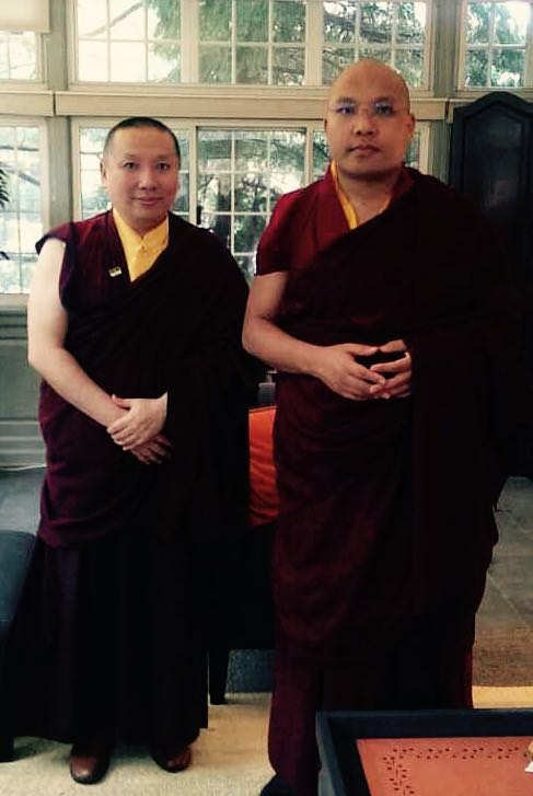 Zurmang Gharwang and Karmapa